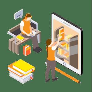 تولید محتوای الکترونیکی